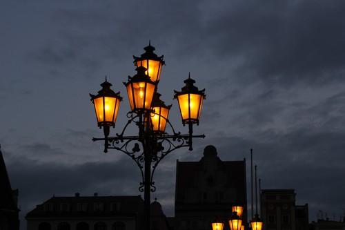 Nocny widok - Wrocław