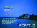 Porteus — ekran bootowania.