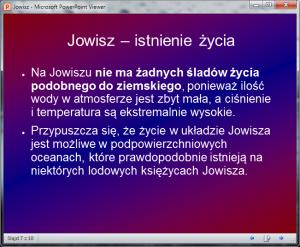 Microsoft PowerPoint Viewer umożliwia podgląd plików PPT orazPPTX.