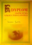 Stary blog (2010) - dyplom ukończenia SP